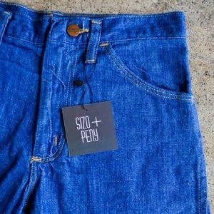 VINTAGE High-Waisted Denim Wrangler Shorts